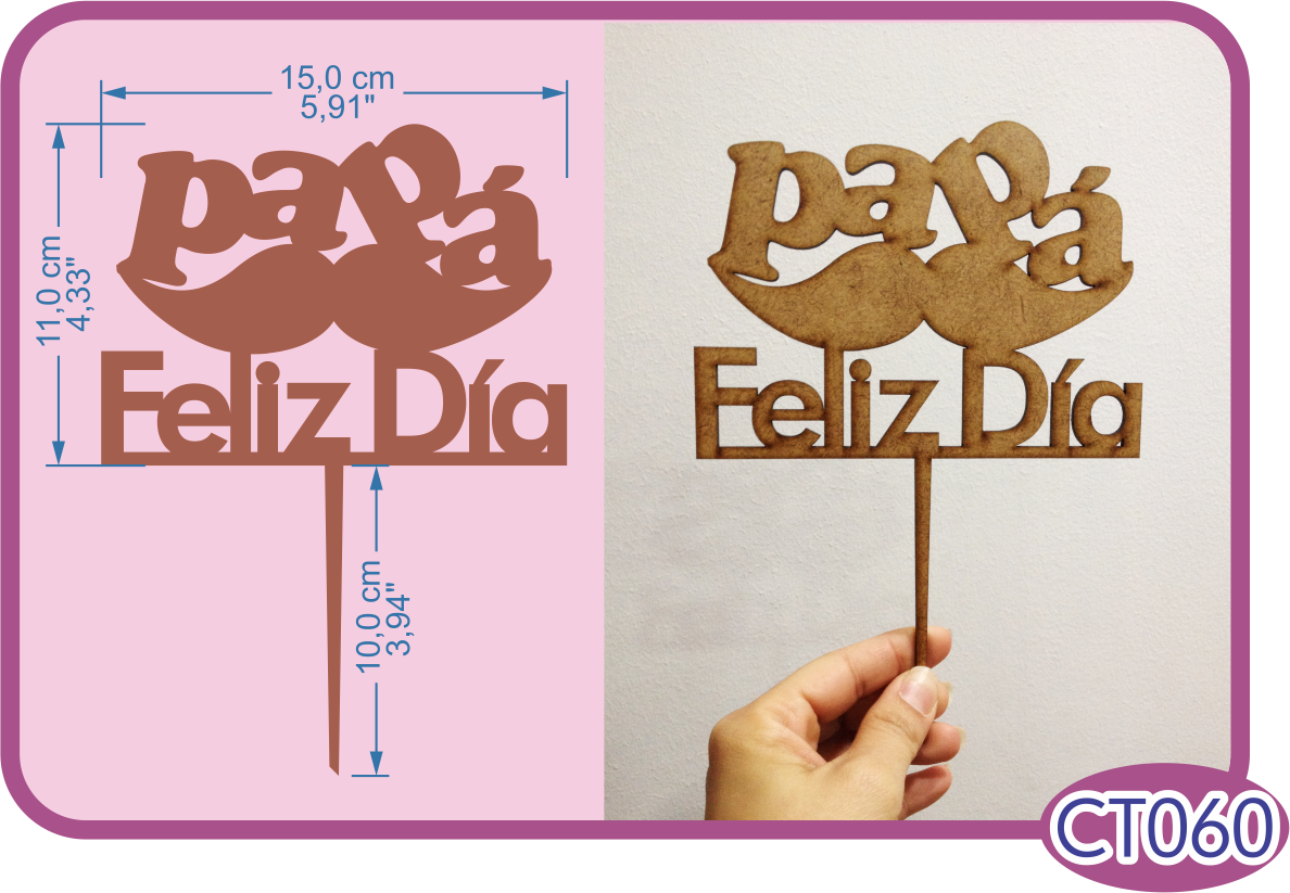 Cake Toppe pra papár. -Pedidos/InquirIes to: crearcjs@gmail.com