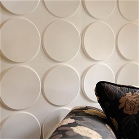 Set de 12 paneles con relieve para pared Ellipses 3D Wall Decor