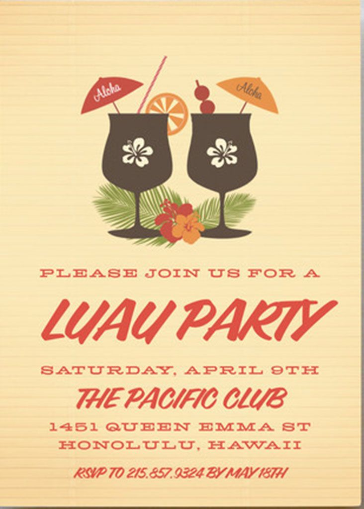 Tiki Island Luau Party Inspiration | Inspiration
