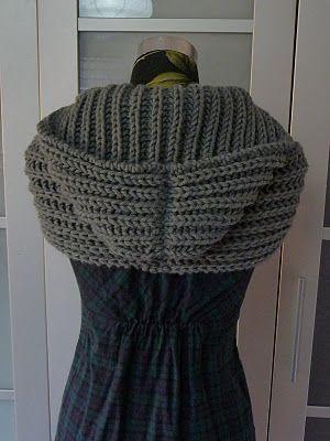 bettinuki: Gestrickter Kapuzenschal | Häkeln/ crochet | Pinterest ...