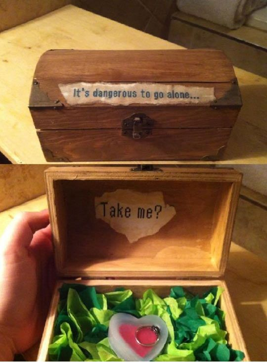 I Want Some To Propose To Me Like This In The Future The Legend