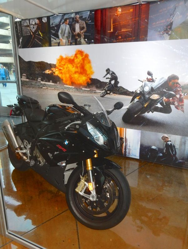 mission: impossible - rogue nation bmw s1000 rr motorbike | movie