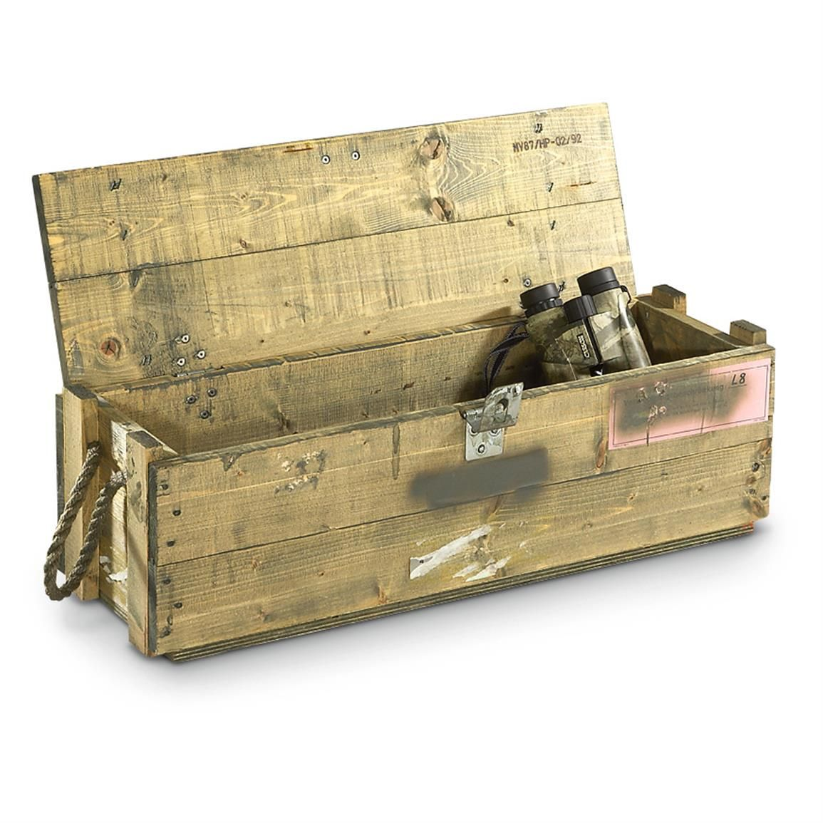 Used Austrian Military Surplus Ammo Box / Foot Locker   Wishlist ...