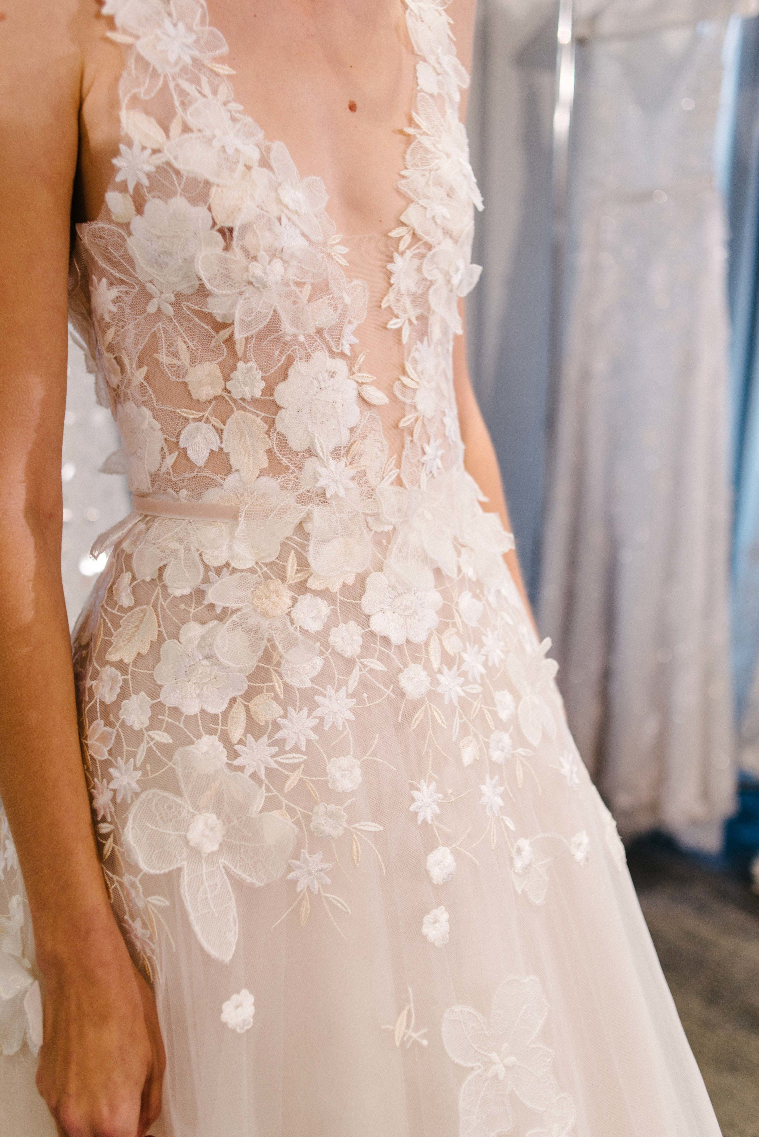Your Peek Of The New Mira Zwillinger Collection White Bridal