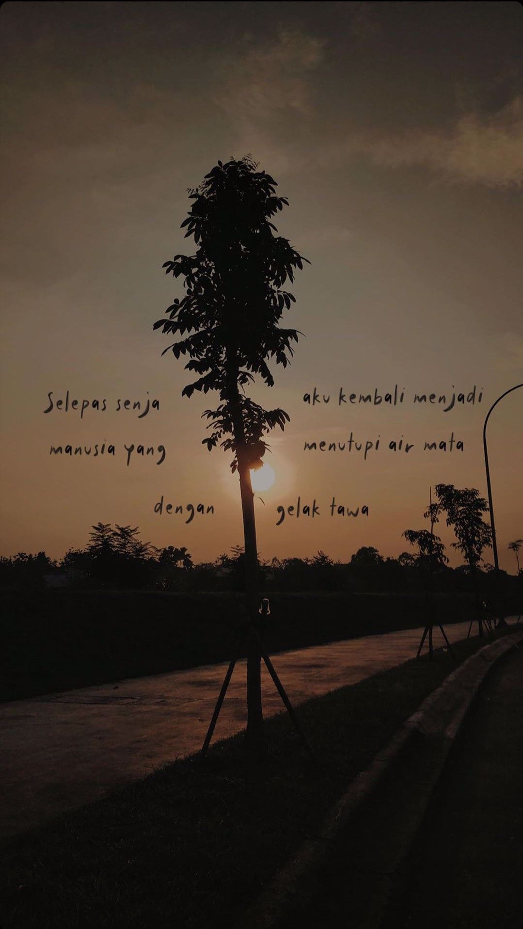 Selamat Pagi Dunia Tipu Tipu In 2020 Sunset Quotes Quotes Deep