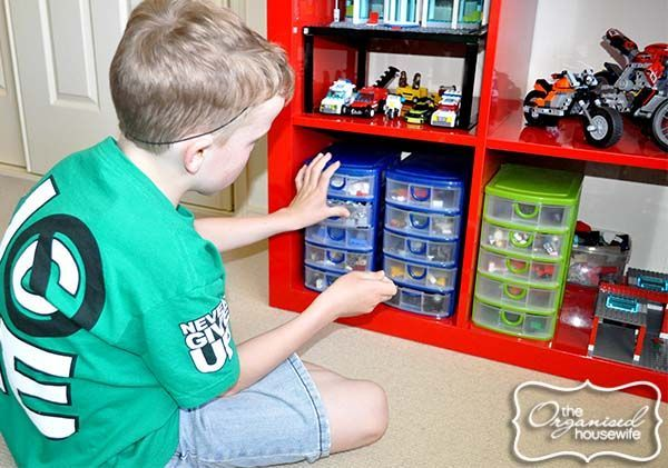 Lego storage and organising ideas for a boys bedroom images