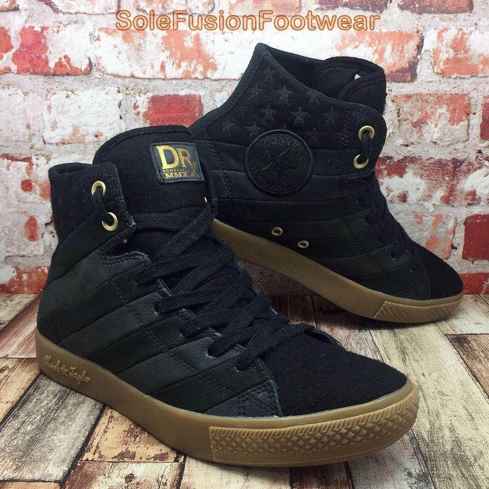 Converse Mens DR X ROMANELLI Trainers sz 8 Chuck Taylor HI Sneakers US 8 EU  41.5  69d8f89a7