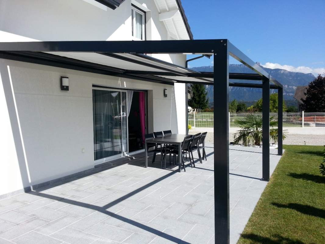 D Licieux Auvent Design Pour Terrasse 4 Pergolas Aluminium A