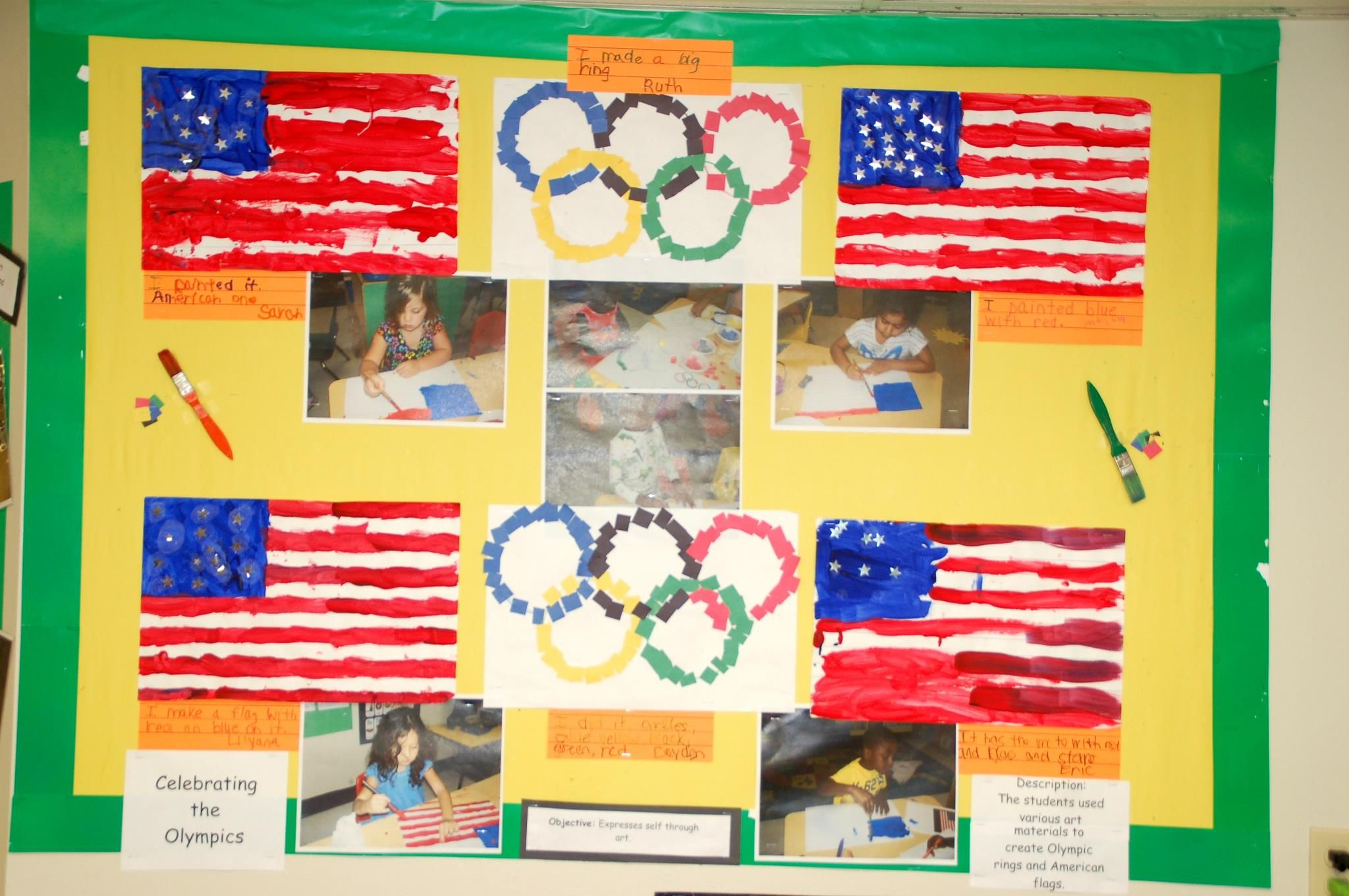 These Cclc Preschool Students Celebrated The Olympics By