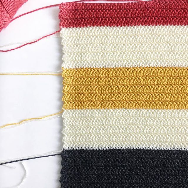 Crochet Hudson Bay Striped Baby Blanket Using Herringbone Half Double Crochet In Progress Daisy Farm Crafts Instagram Crochet Blanket Modern Crochet Crochet