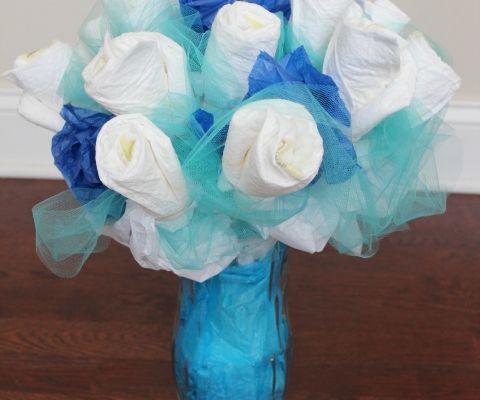 Resultado de imagem para bouquet  de fralda de cha de bebe