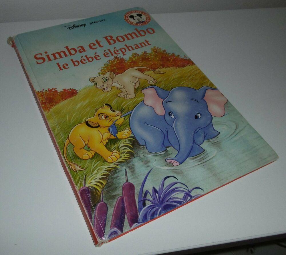 Simba Et Bombo Le Bebe Elephant Disney Club Du Livre
