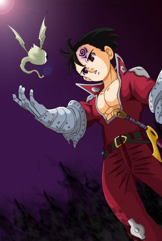 Nanatsu No Taizai Zeldris Nanatsu No Taizai Manga Nanatsu Anime Sete Pecados Capitais