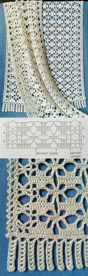 De las palatinas - el aumento - el chal por el gancho | Crochet ...