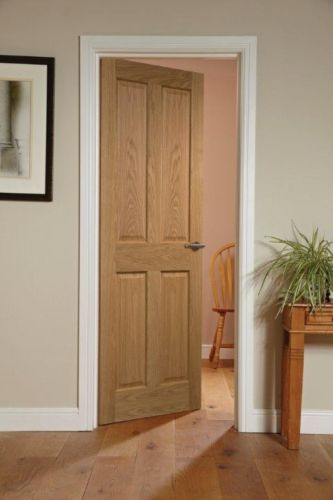 Canterbury 4 Panel Oak Veneered Interior Door Pinterest Interior