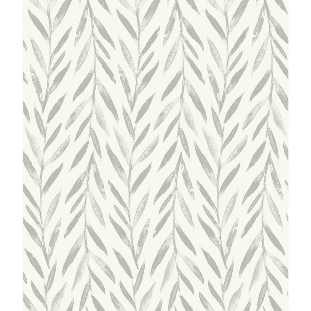 Magnolia Home By Joanna Gaines Willow Grey Paper Strippable Roll Covers 56 Sq Ft Mk1137 The Home Depot Magnolia Homes Joanna Gaines Wallpaper Stripped Wallpaper