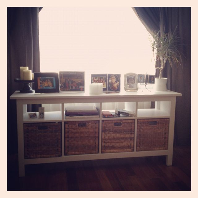 my new sofa table for my living room hemnes sofa table. Black Bedroom Furniture Sets. Home Design Ideas
