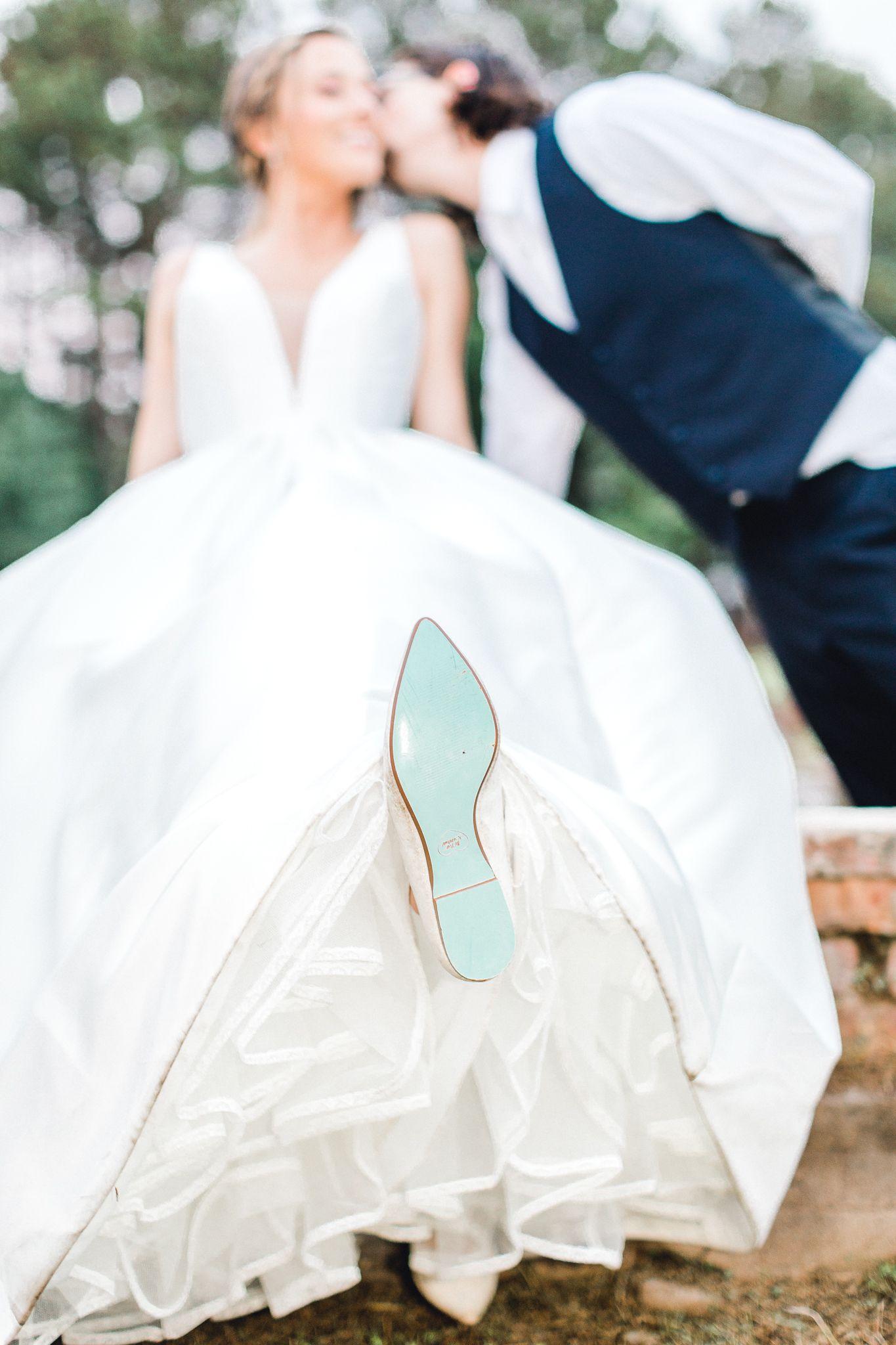 Blue Bottom Wedding Shoes Runney Mede Planation Wedding Charleston Wedding Charleston Wedding Photographer Wedding Photographers Intimate Wedding Photography