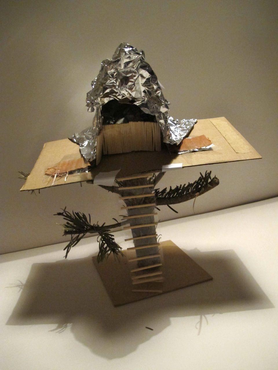 Making a tree house model