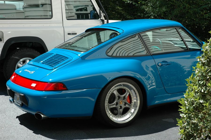 Riviera Blue Porsche 993 Carrera 4S with #Speedlines. #everyday993 #Porsche