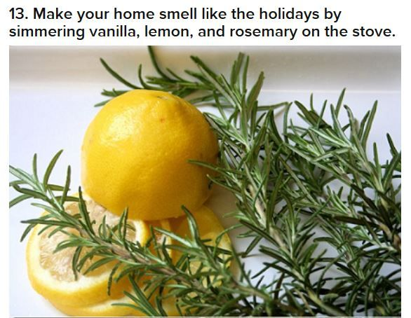 Make Your Home Smell Like The Holidays Simmer Vanilla