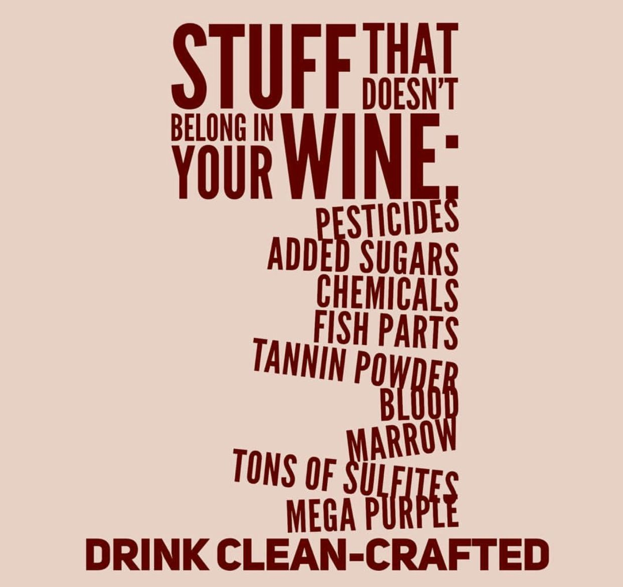 Do You Know What Is In Your Wine Drink Scout Cellar Nopesticides Nochemicals Noaddedsugar Organic Wine Vegan Wine Wine