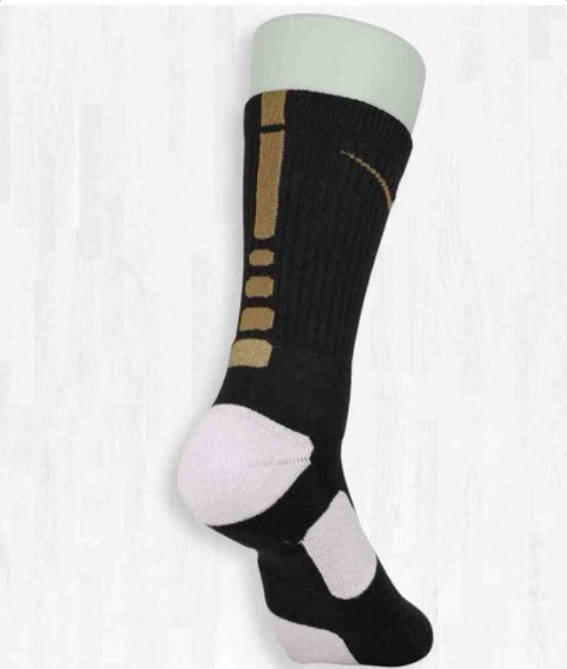 Nike Chaussettes Élite Blanc Noir Et Or réduction avec paypal la sortie offres confortable en ligne TMrx06MMg
