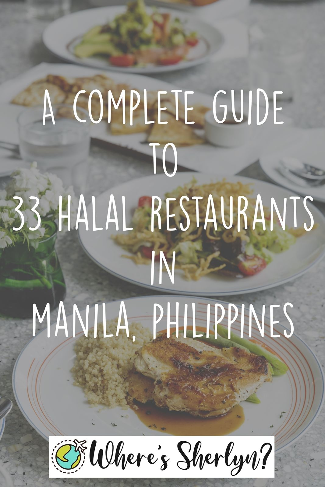 A Complete Guide To 33 Halal Restaurants In Manila Philippines Halal Manila Persian Restaurant