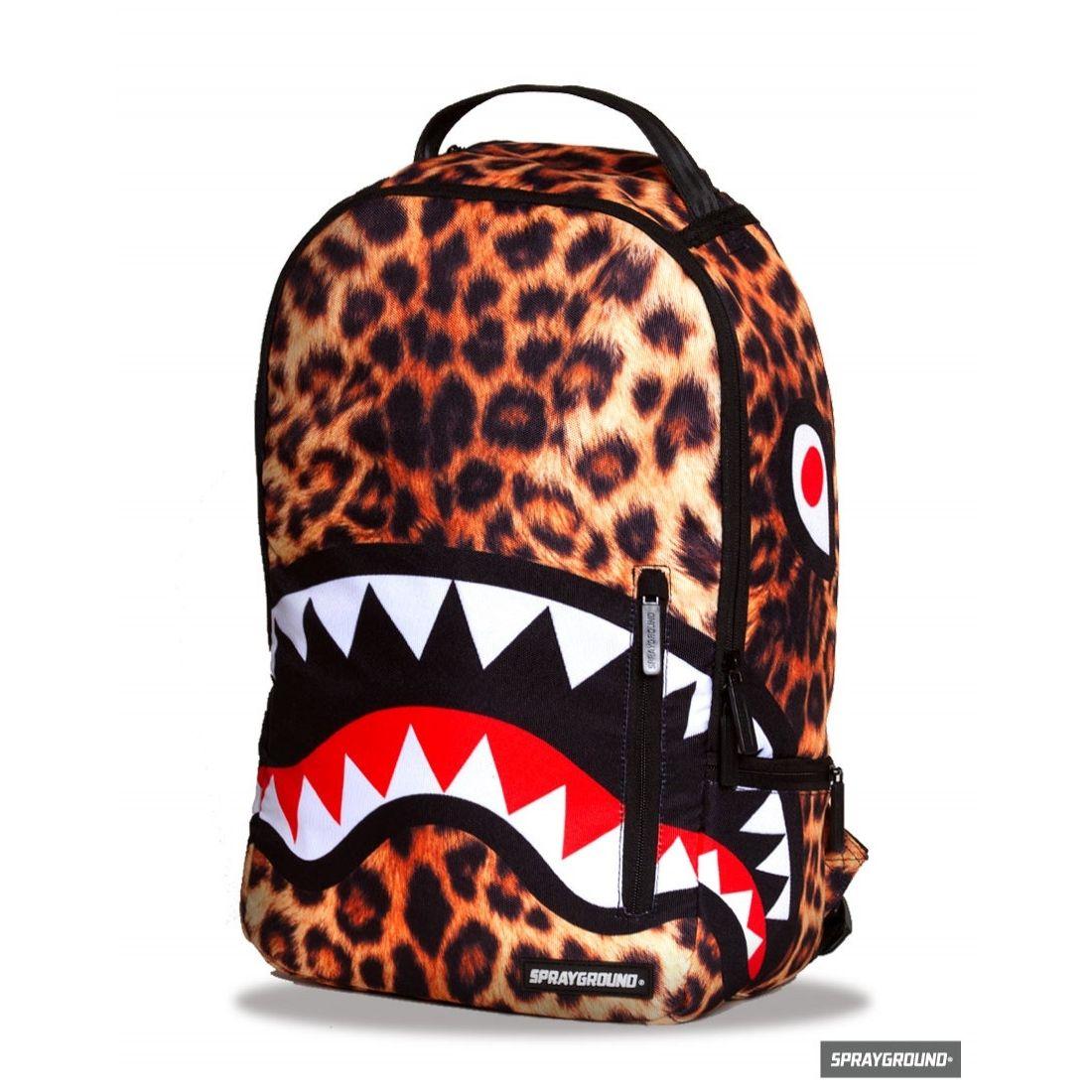 Sprayground Leopard Shark Backpack/Laptop Bag @UKKolours ...