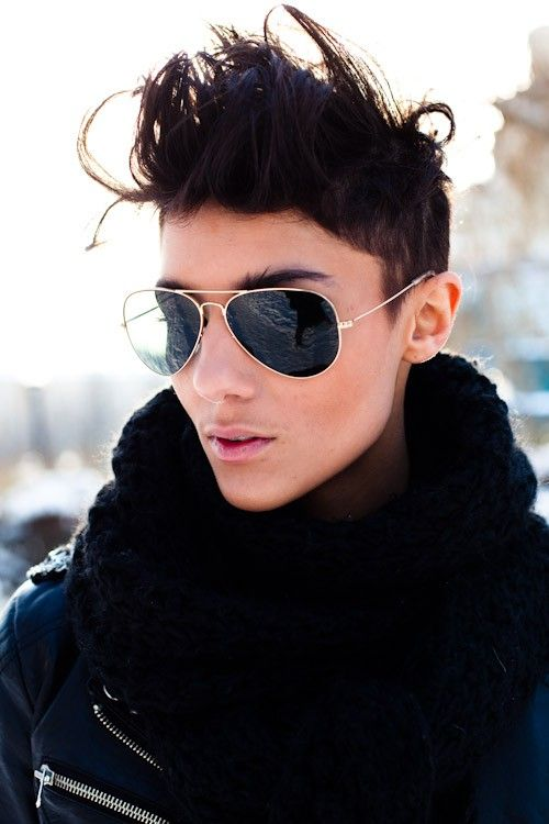 Strange 1000 Images About Hair On Pinterest Androgynous Style Short Short Hairstyles Gunalazisus