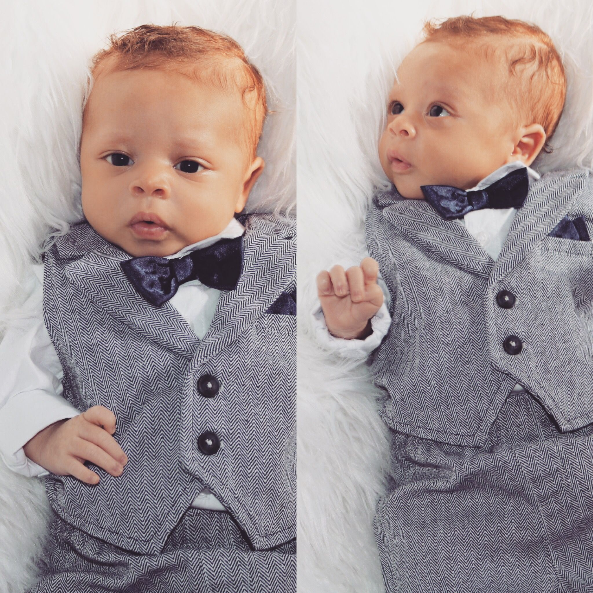 Newborn Photography My Little Guy Was So Camera Ready Baby Boy Hairstyles Cute Black Babies Ginger Babies