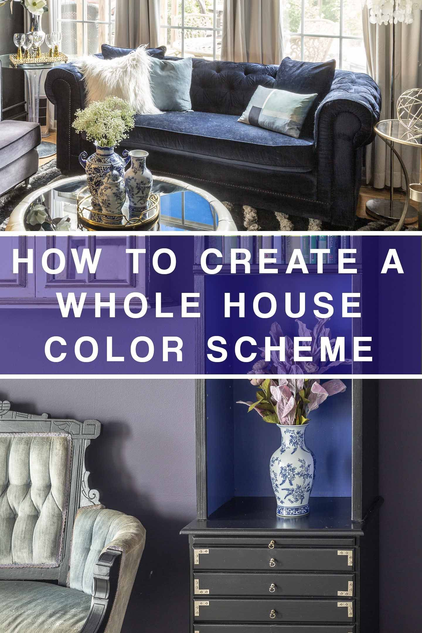 how to create a whole house color scheme even if you love on how to choose interior paint color scheme id=31155