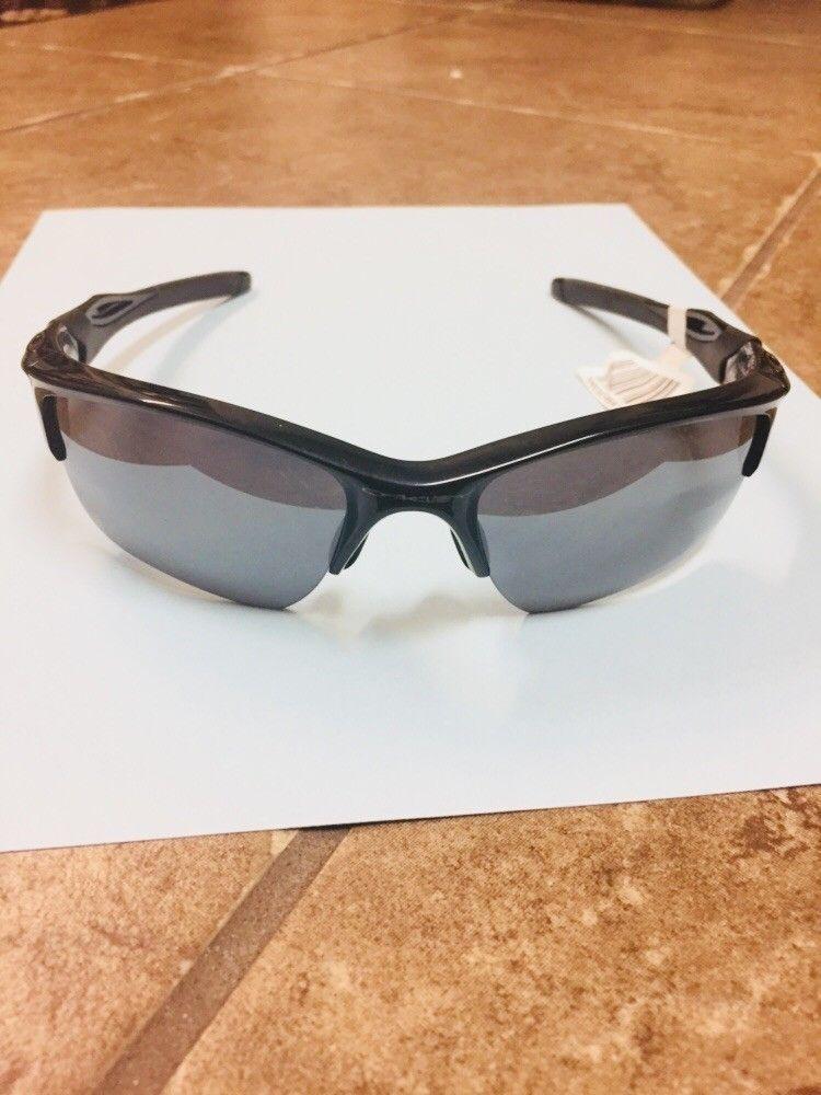 Oakley Half Jacket 2.0 XL Polished Black w/ Black Iridium