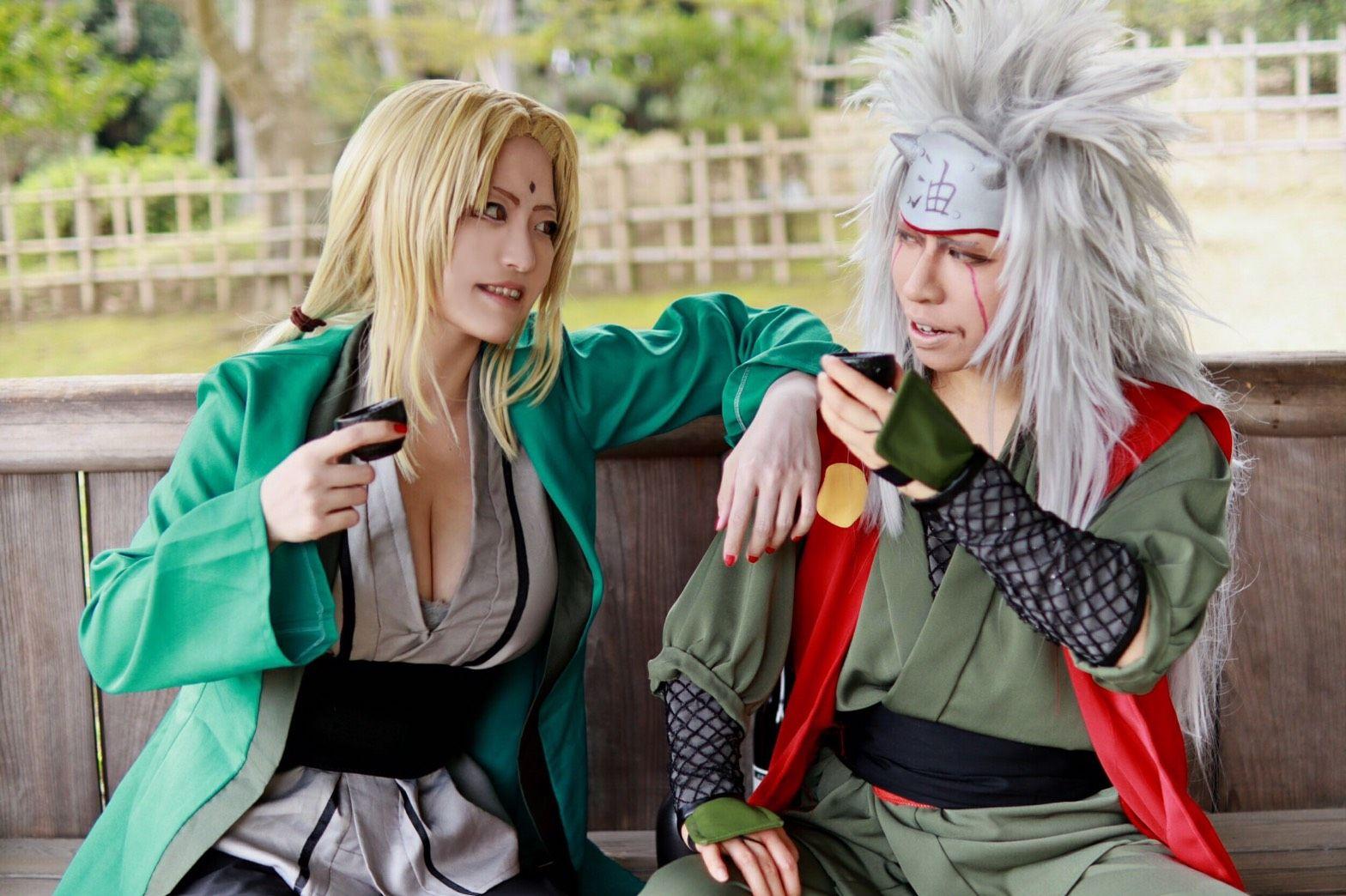 Pin oleh Who? di Naruto shippuden cosplay di 2020