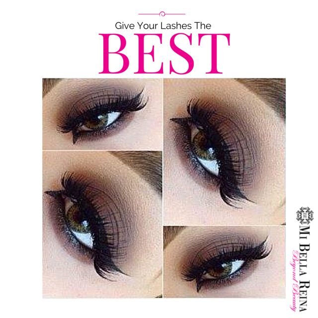 Best is what your lashes deserve.