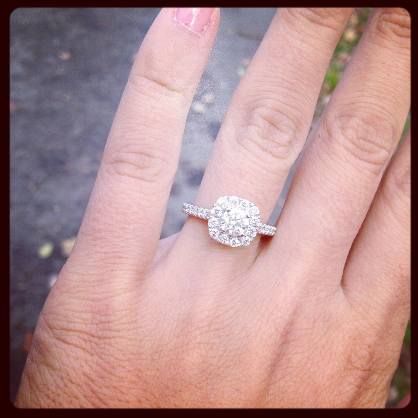 My beautiful Neil Lane engagement ring! | BRIDAL | Pinterest | Neil ...