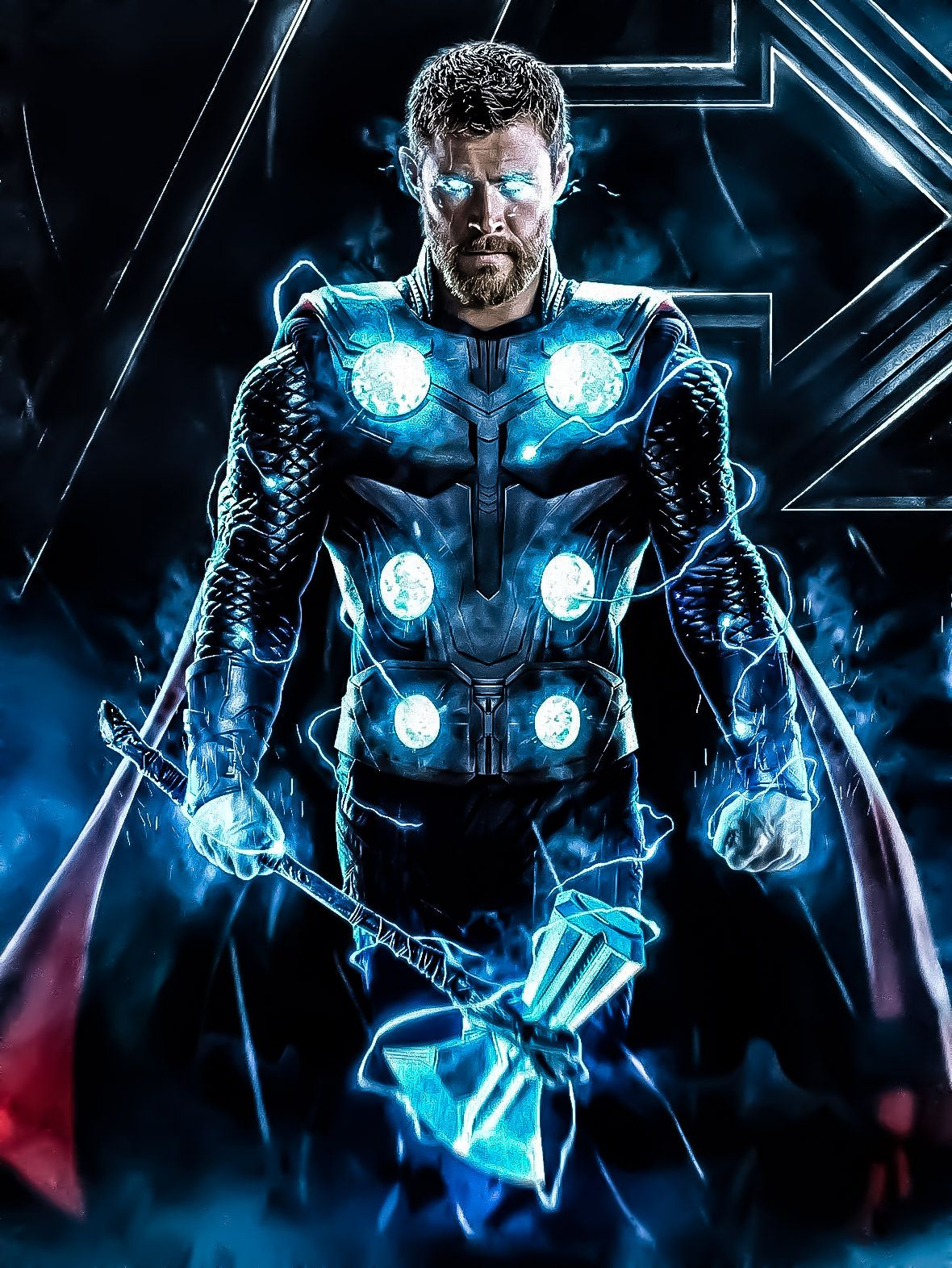 Thor's Stormbreaker Heróis marvel, Marvel vingadores, Marvel