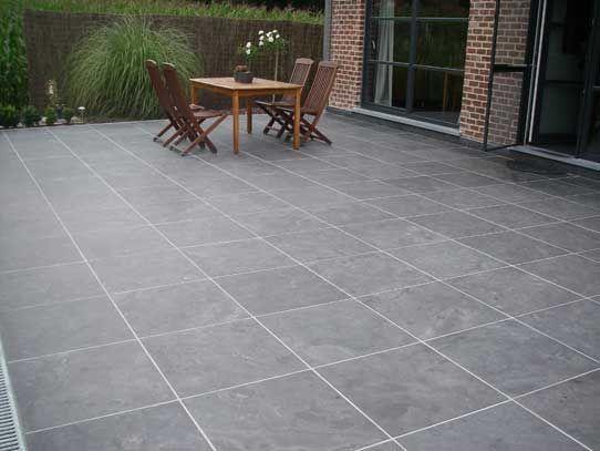 Bluestone Tegels 60x60.Chinees Hardsteen Spotted Bluestone Tegels Natuursteen