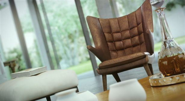 Interior Make Your Living Room Luxurious With Contemporary Living Chair  Modern Wood Living Table Wooden Glass