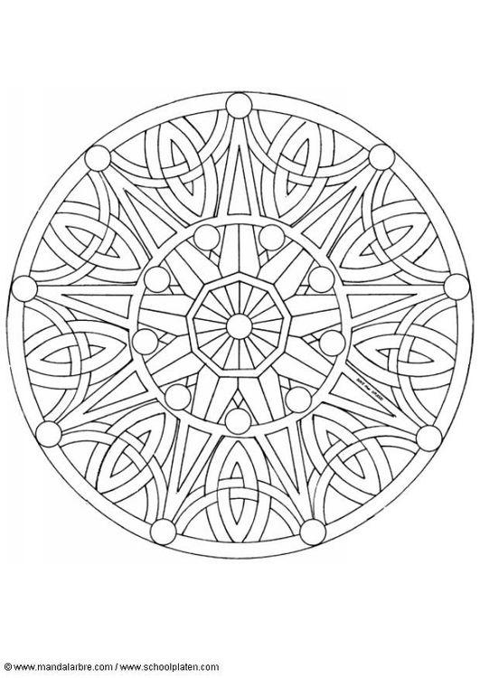 Volwassen Kleurplaat Boeddha Kleurplaat Mandala 1702b More Mandalas Pinterest