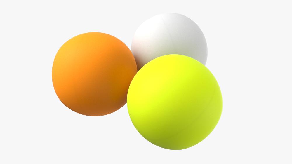 3d Model Ping Pong Balls Turbosquid 1449527 Ping Pong Ping Pong Balls Pong