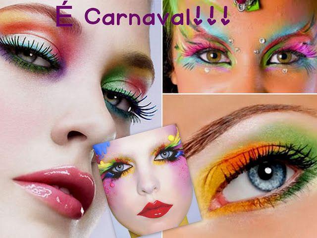 Novo Poste Make de carnaval
