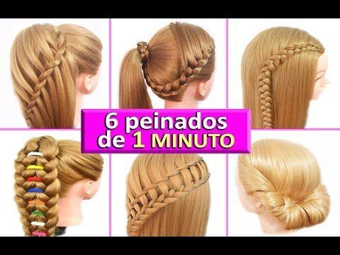 Peinados faciles y rapidos y bonitos para pelo chino con - Como hacer peinados faciles y rapidos paso a paso ...