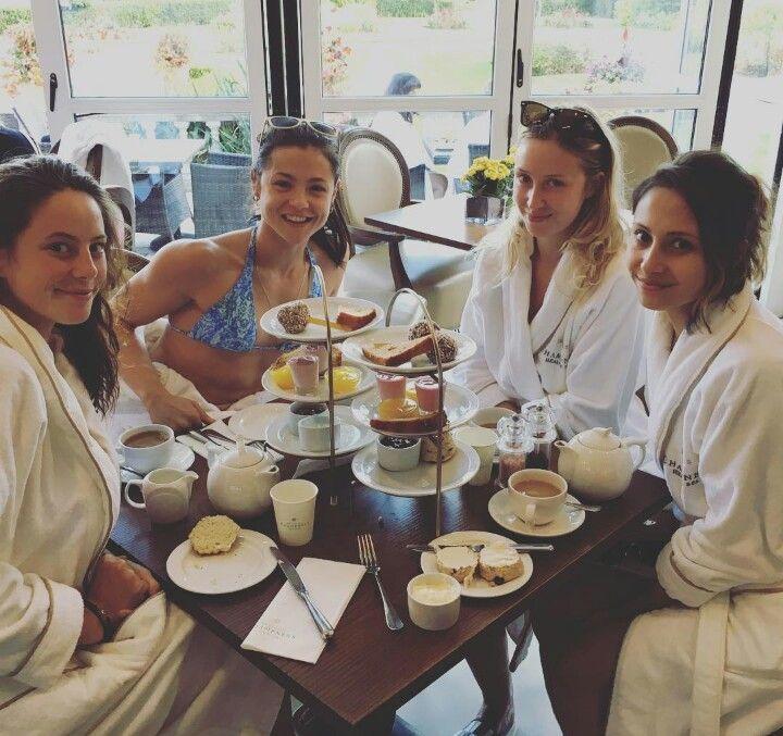 Kaya (Effy) , Megan (Katie), Lily (Naomi) , Klariza (Freddie's sister)