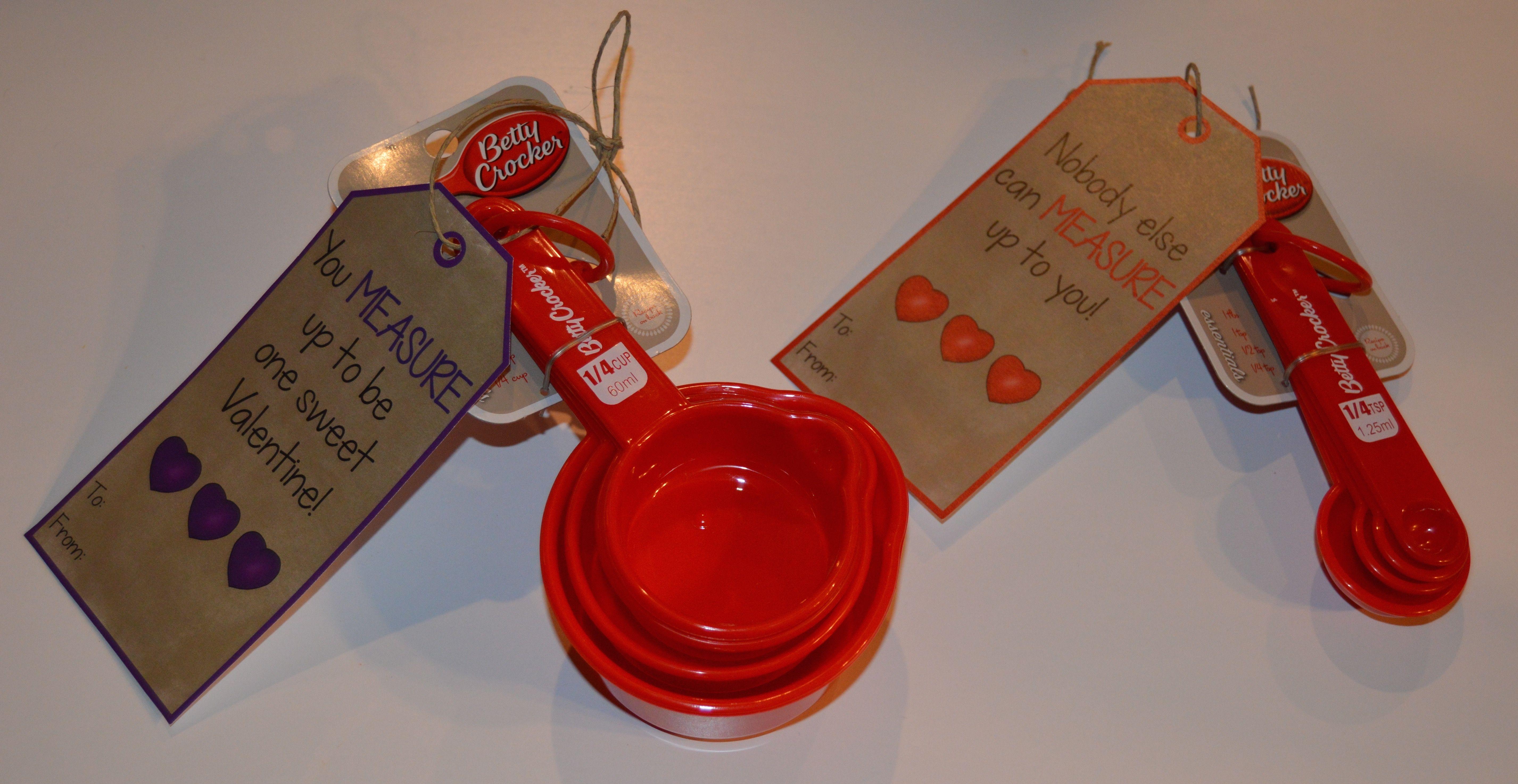 Measuring Cup Valentine