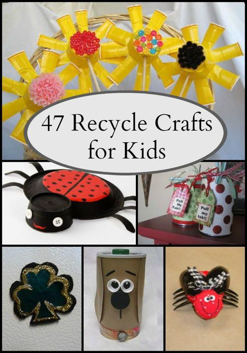 54 Recycled Crafts For Kids Recycled Crafts Kids Recycled