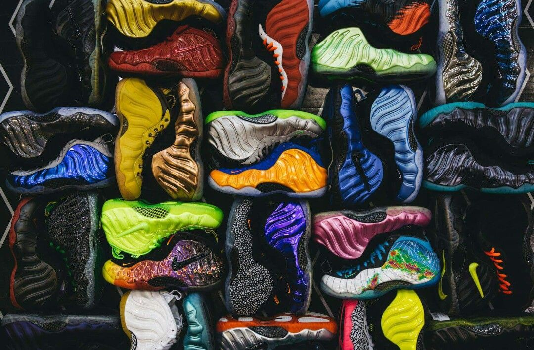 Pin by Calum Whitley on FEET Nike foamposite, Nike, Sneakers