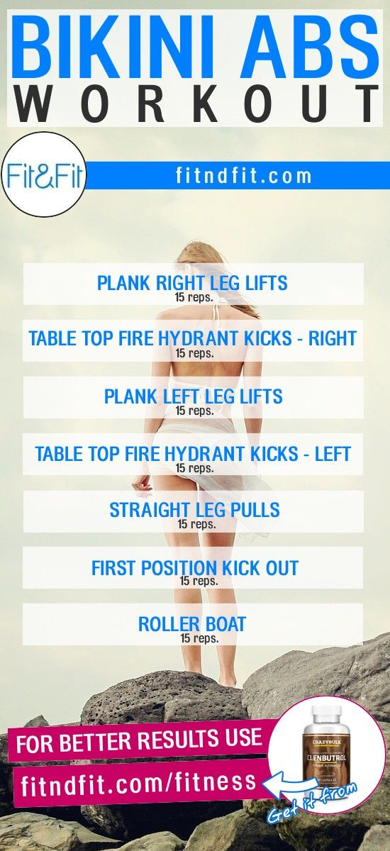 Bikini Abs Workout! #fitness #bodybuilding #workout #gym #weightloss #fatloss #diet #loseweightfast #love #new #pinterest #london #newyork #uk #newyork #losangeles