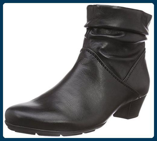 Gabor Shoes 35.637 Damen Kurzschaft Stiefel, Schwarz