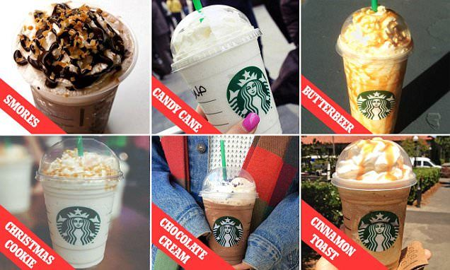 The Starbucks Christmas drinks menu you never knew existed ...